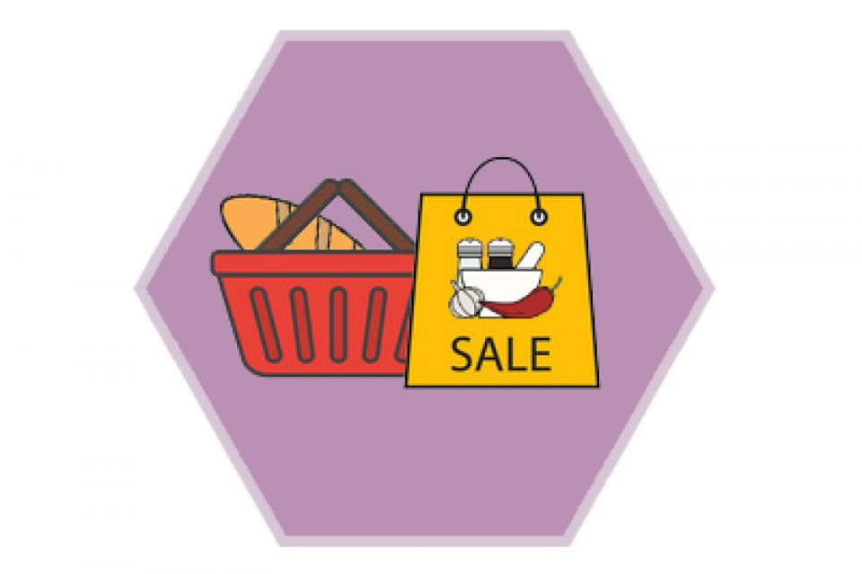Maja Shop Groceries